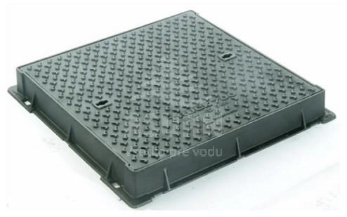 Poklop liatinový štvorcový D400 TRUCK