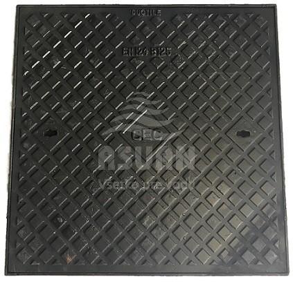 Poklop liatinový 600x600 B125
